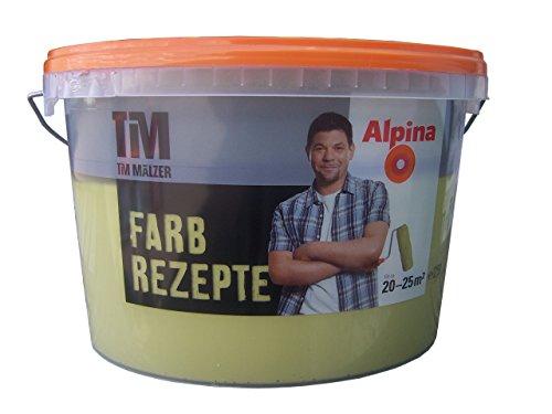 ALPINA Farbe Tim Mälzer Farbrezepte 2,5 L. Olivenhain