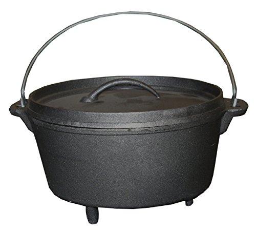 Dutch Oven 4Ltr Cast Iron Cooking Pot
