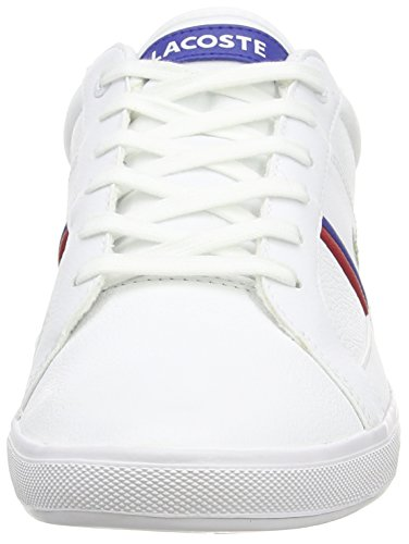 Lacoste EUROPA TCL, Sneakers basses homme Weiß (WHITE 21G)