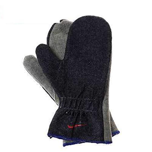 HBJP Ofenspezifische Handschuhe Feuerfeste Hochtemperatur- und Wärmeisolierungs-Verbrühungshandschuhe Ofen Mikrowellen-Spezialhandschuhe Handschuh
