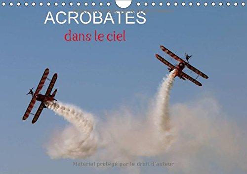 Acrobates dans le ciel (Calendrier mural 2018 DIN A4 horizontal): Les Breitling wingwalkers (marcheuses sur les ailes) en évolution (Calendrier mensuel, 14 Pages ) (Calvendo Sportif)