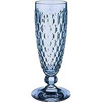 Villeroy & Boch Boston Coloré Verre à Champagne, Cristallin, Bleu, 145 ml