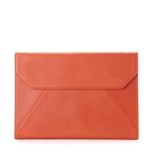 document-a4folio-bride-cuir-tangerine