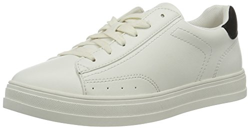 ESPRIT Damen Sidney Lace up Sneakers, Weiß (100 White), 40 EU