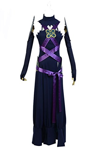 Fuman Fire Emblem Aqua Azura Cosplay Kostüm XXL