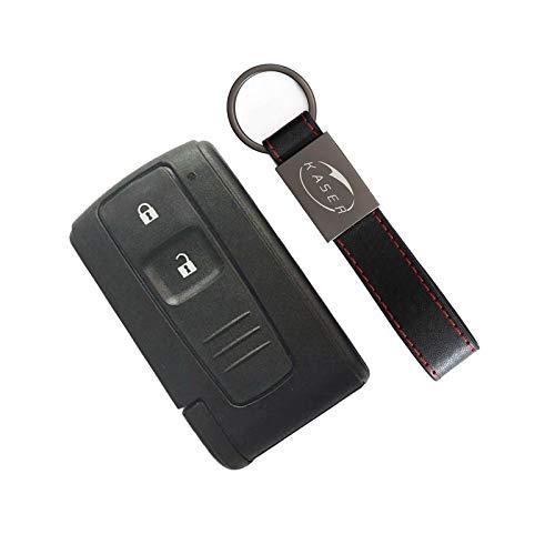 Schlüssel Gehäuse Fernbedienung für Toyota Autoschlüssel Funkschlüssel 3 Tasten für Toyota Prius 2004-2009 Corolla Verso Camry Keyless