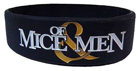 Of Mice & Men Logo Gummy (Black Metal Music Band)