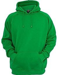 Urban Classics - Blank Hoody - C.green
