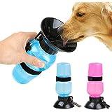 Prifix Water Bottle for Pets Dog Water Bowl Bottle Sipper Portable Aqua Dog Travel Water Bottle, Bowl Auto Dog Mug for Pets -