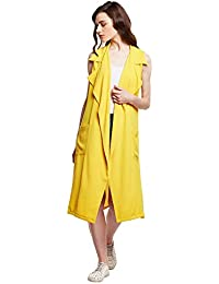 Sunshine Yellow Trench Dress Style Shrug