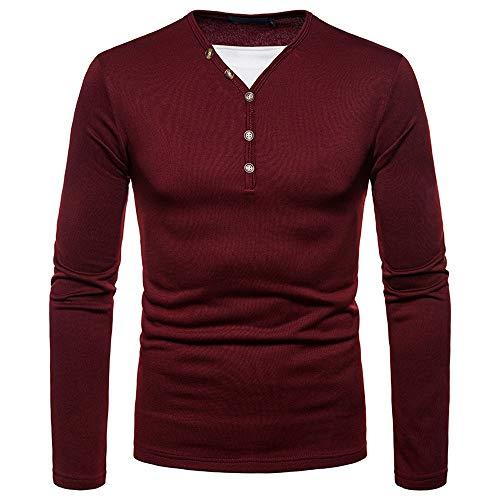 Roiper Sweat-Shirt des Hommes, Pull Rayé à Manches Longues Fashion pour l'h