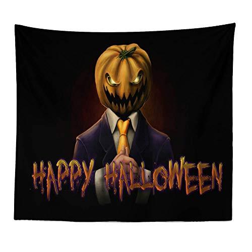 ZRSCL Tapiz Calabaza Halloween Pinturas Pared Colgantes