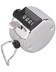 Mano contador mecánico 4dígitos Palm Clicker Contador