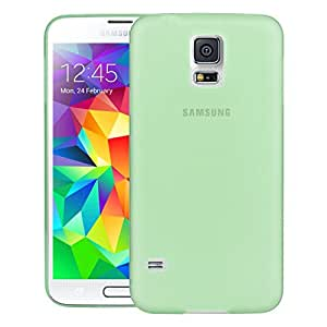 Swan Slim Fit Case Premium Super Lightweight / Perfect Fit / Absolutely NO Bulkiness Hard Case for Samsung Galaxy S5 Green