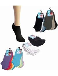 ORIGINAL WOWERAT 20 Paar Original-American-Life-Style-Sneaker-Socken schwarz, weiss, farbig (37-47) für Kinder, Damen, Herren