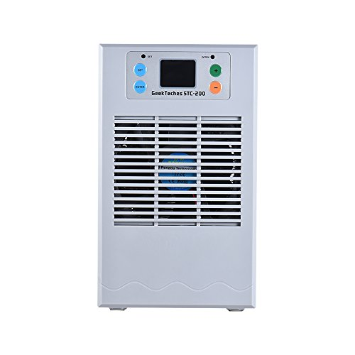 Decdeal Aquarium Thermostat Temperaturregler für Heizen oder Kühlen Inkl. Mini Wassepumpe (110v Dc-heizungen)