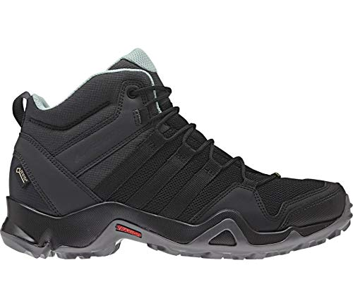 adidas Damen Terrex AX2R MID GTX Trekking-& Wanderstiefel, Schwarz Negbás/Vercen 000, 41 1/3 EU
