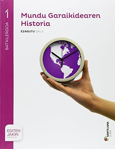 HISTORIA MUNDO CONTEMPORANEO 1 BACHILLERATO ZUBIA - 9788498949247