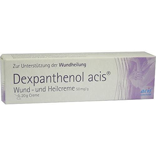 Dexpanthenol acis Wund + Heilcreme 20 g