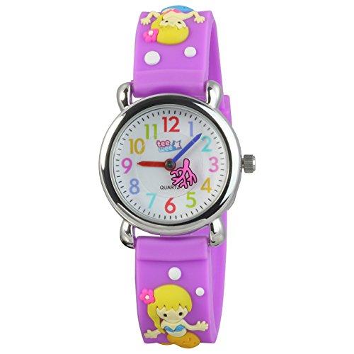Teenie UW647V Kinder-Armbanduhr, Kautschukband -