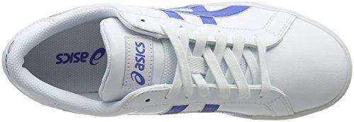 Asics Classic Tempo, Sneakers basses mixte adulte White (White/Classic Blue)