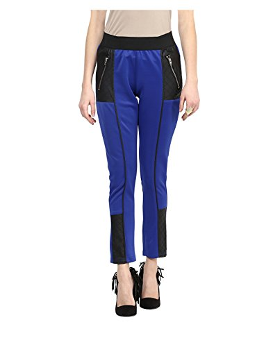 Yepme Women's Blue Poly Cotton Jeggings - Ypmjggn0017-$p