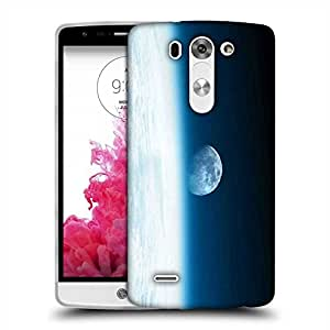 Snoogg Abstract Moon Designer Protective Phone Back Case Cover For LG G3 BEAT