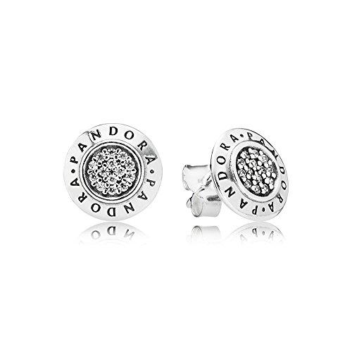 Pandora Orecchini a perno Donna argento - 290559CZ...
