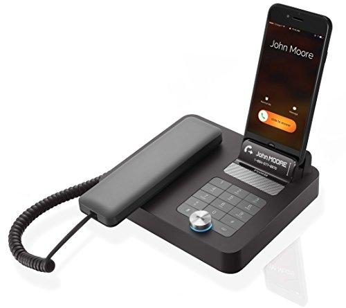 NVX 200 - Haut-Parleur Bluetooth - Transformez Votre Mobile en téléphone de Bureau