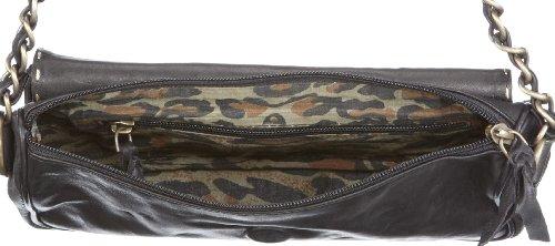 Taschendieb TD43 sheep Damen Schultertaschen, 25x15x4 cm (B x H x T) Grün