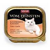 32 x Animonda vom Feinsten für kastrierte Katzen mit Pute & Lachs 100g