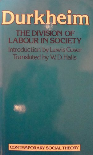 Division of Labour in Society (Contemporary social theory)