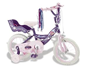 Kidcool Bella Girls Bike - Pink/Purple, 14-Inch
