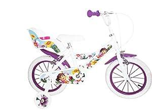 """Toimsa - 1451 - Vélo pour Enfant - Dora l'Exploratrice - Fille - 14"""" - 4 à 7 ans"""