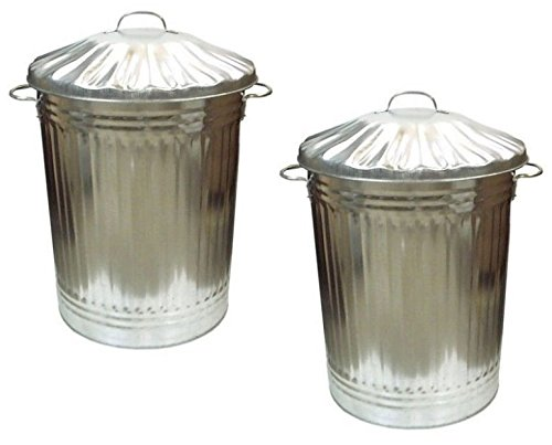 90l-galvanised-metal-rubbish-bin-x-2