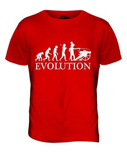 CandyMix Sezessionskrieg Amerikanischer Bürgerkrieg Evolution Des Menschen Herren T Shirt Rot