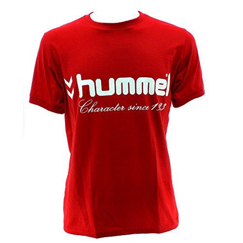 Hummel UH - Maglietta maniche corte, rosso, XXS