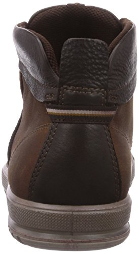 ECCO - Ennio, Sneaker alte Uomo Marrone(Cognac/Mocha 59076)