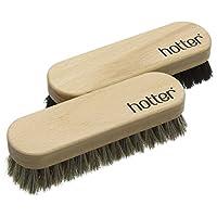 Hotter Twin Brush Set Shoe Brushes, Beige (Beige), One Size