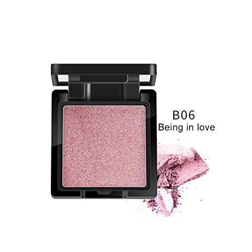 Pretty Comy Shimmer Pressed Powder丨Wasserdichtes Aufhellen der Hautfarbe Face Luminous Glow Highlight Powder