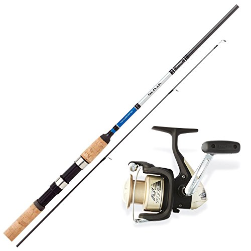 SHIMANO Allround Angelset Combo Angelrute & Angelrolle Set. Ferien Angeln NO2