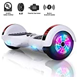 Sumwell Hoverboard 6.5 Bluetooth con LED, Scooter Elettrico, Monopattino...