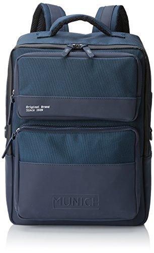 Munich 7040046, Mochila para Hombre, Azul (Navy), 10x40x28 cm (W x H x L)