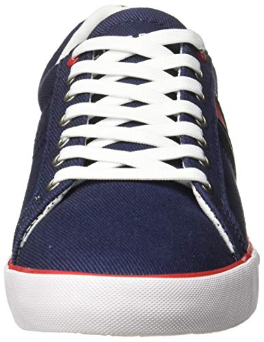 TOMMY HILFIGER Men's Th Navy Sneakers-7 UK/India (41 EU) (P9BMF128)