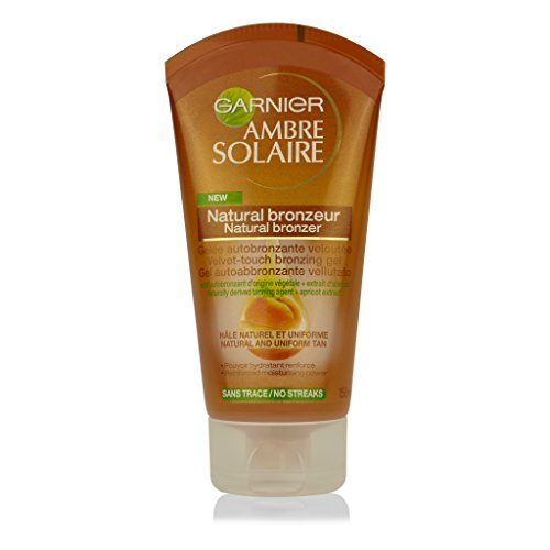 Garnier ambre solaire natural bronzer gel autoabbronzante vellutato, 150 ml