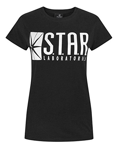 official-flash-tv-star-laboratories-womens-t-shirt-m