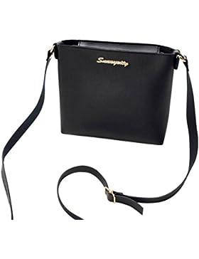 Longra Sacchetto della moneta del sacchetto del telefono del sacchetto del messaggero del sacchetto del messaggero...
