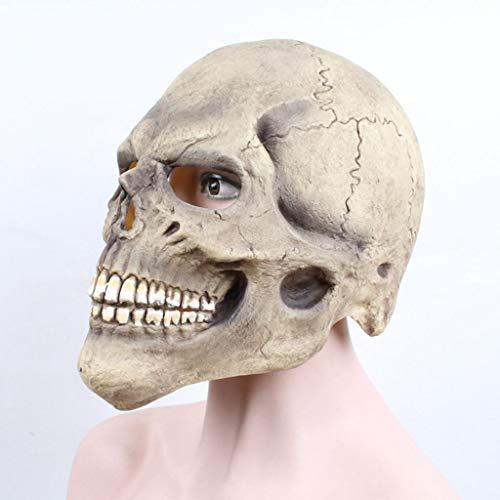 JHLD Halloween Party Masken, Teufel Schädel Thriller Unheimlich Masken, Cosplay Halloween Maske Prop Party Maske-EIN-1 (Werwolf Thriller Kostüm)