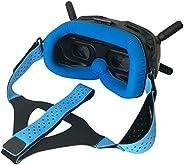 Honbobo Fascia regolabile per la testa + fascia per gli occhi per DJI FPV Occhiali V2, FPV Combo Drone Accesso