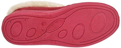 Pantofole Da Donna Dunlop Rosso Inverno